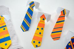 father's day tie bunting