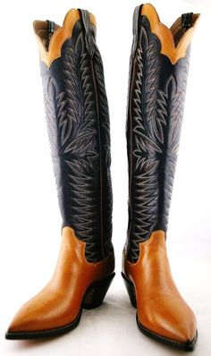 Western M Men's Leather Upper for Sale Mens Heeled Boots, Mens Riding Boots, High Heel Cowboy Boots, Custom Cowboy Boots, Western Boots, Cowboy Western, Pull On Boots, Jeans And Boots, Buckaroo Boots