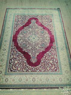 Silkcarpet. Turkish name is HEREKE.first quality...in grand bazaar istanbul