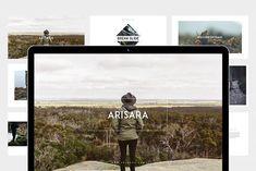 Arisara Powerpoint Presentation by eunavia on @creativemarket