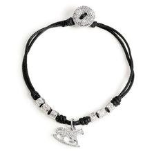 do do leather bracelet.. all different charms that come in silver or gold.. WANT ONE