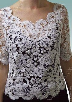 Irish crochet &: Irish lace by Alla Khlavnovich