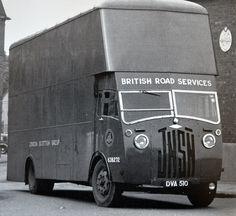 1950 Jensen BRS Pantechnican, via Flickr.