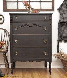 Attrayant 9 Black Painted Furniture Projects