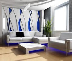 Moderne Wohnzimmer Wandgestaltung Wohnzimmer Wandgestaltung Modern ... Wohnzimmer Ideen Tapezieren