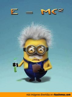 Minion Albert Einstein. - Geek - Millions of Minions