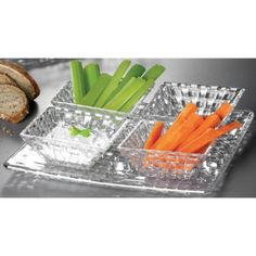 Nachtmann fine Bavarian crystal which is the lifestyle division of Riedel Glass Works offers Dancing Stars Bossa Nova Value Pack five piece set with one square plate and four square condiment bowls. Beautiful addition to your serveware collection. Terrific gift to give or keep for yourself.