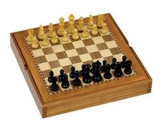 "Chess Set with Board - 3"" Weighted Chess Pieces with 15"" Board and Draught Pieces by Jaques of London, http://www.amazon.co.uk/dp/B004GKSCL4/ref=cm_sw_r_pi_dp_AA0wsb0E30W67"
