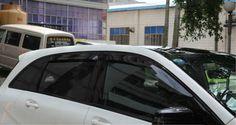 64.68$  Buy now - http://aliw1b.shopchina.info/go.php?t=32507679468 - For Benz B class W246  2012-2015 Window Visor Vent Shade Rain/Sun/Wind Guard  #shopstyle