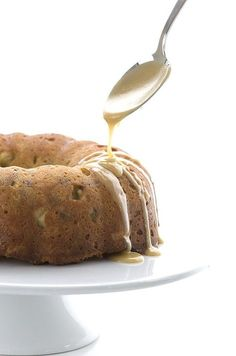 Delicious low carb grain-free bundt cake the tastes just like pecan pie! Your new favourite Thanksgiving dessert.