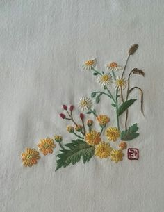 Getting to Know Brazilian Embroidery - Embroidery Patterns Herb Embroidery, Hand Embroidery Flowers, Hardanger Embroidery, Types Of Embroidery, Japanese Embroidery, Silk Ribbon Embroidery, Hand Embroidery Designs, Cross Stitch Embroidery, Embroidery Patterns