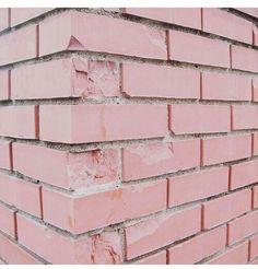 Pink brick wall Melanie Martinez, Crying, We Heart It, Wallpaper, Wallpaper Desktop, Wall Papers, Tapestry, Wallpapers