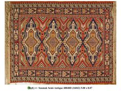 48849D - SOUMAK STYLE - Darius Antique Rugs - Stark Carpet