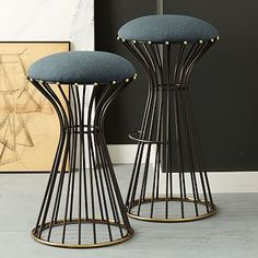 Adelphi Bar + Counter Stool from West Elm