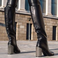 8b3e34ca4b1 Be fierce and feminine in your #MIGATO RN906 black matte boot! Shop online  ▻ //bit.ly/RN906-L14
