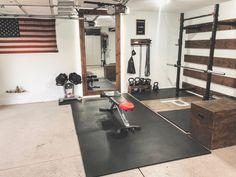 diy home gym Garage Gym Ideas for your Home Gym Home Gym Basement, Home Gym Garage, Diy Home Gym, Gym Room At Home, Home Gym Decor, Garage House, Best Home Gym Setup, Basement Ideas, Home Gym Design