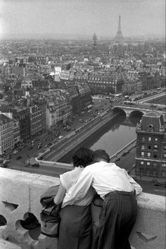 Henri Cartier-Bresson, Paris 1955