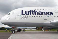 Lufthansa's Airbus A380-841