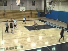 (1) Basketball Drills - Shell Defense - YouTube - GREAT SLOW MOTION