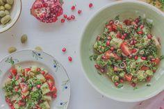 Eggplant salad Eggplant Salad, Pasta Salad, Ethnic Recipes, Food, Eggplant, Dining, Salads, Dishes, Recipes
