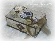 Kirstens Blogg: Vintage Angel Chocolate Box