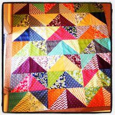 Pin It and Stitch: Layer Cake Quilt.