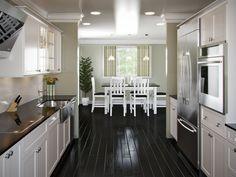Attrayant Modern Galley Kitchen Ideas