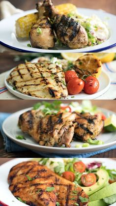 No matter how you take your grilled chicken, from BBQ and Thai to lemon and rosemary, we've got a recipe for you.