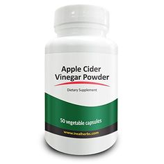 Real Herbs Apple Cider Vinegar 750mg  Detox  Weight Loss Supplement Improves Lymphatic Digestive  Immune System Regulates Blood Sugar Level  50 Vegetarian Capsules ** You can get more details by clicking on the image.Note:It is affiliate link to Amazon.