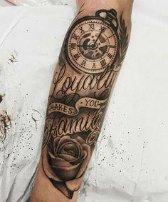 Tattoos kindernamen männer mit Familien tattoo