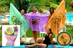 Full sized towels that fit in your pocket! Perfect for camping, hiking and the beach.