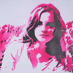 Emma Watson portrait, graffiti stencil art. Get your own personal portait. For more information mail: kunst.graffiti@gmail.com or go to our website