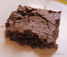Cut the Wheat, Ditch the Sugar: Sugar, Wheat and Gluten Free Low Carb (high fiber) Fudge Brownies