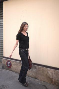 Claire Jonville Thomson  - Self Service Magazine seen in Jaggy Nettle Japan Jeans @ jaggynettle.com