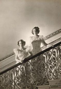 Princess Elizabeth and  Princess Margaret, photo Cecil Beaton