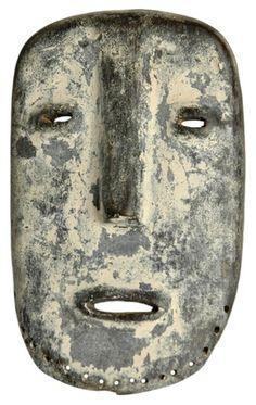 Vintage African Art Mask - Sukuma People - Tanzania Africa