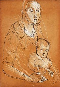 Kuutti Lavonen, Finnish artist. Koti, Poetry Books, Etchings, Mother And Child, Hugs, Finland, Kisses, Modern Art, Disney Characters
