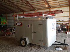 ladder rack work trailer cargo