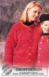 Jacke in Camelia (Camelia ist eine alte Qualität Alternativen siehe unten) ~ DROPS Design