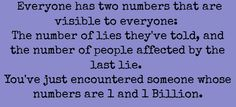 Two numbers.