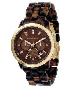 Michael Kors Tortoise Watch Christmas present? Check yes.
