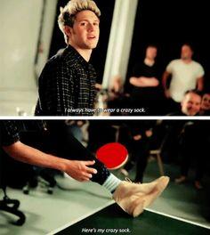Niall's lucky sock :)