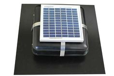 Solar Roof Vent - Solar Attic Fan - Solar RVOblaster with Black Vent -- See this great product.