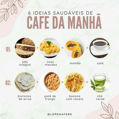 Healthy Tips, Healthy Choices, Healthy Eating, Healthy Recipes, Menu Dieta, Breakfast At Tiffanys, Meal Planning, Good Food, Food And Drink