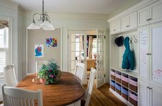 traditional kitchen by Cummings Architects art wall??