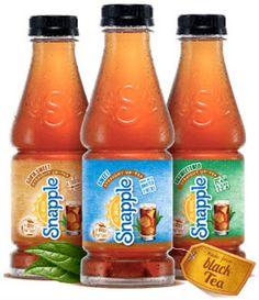Free Snapple Straight Up Tea at Kroger!