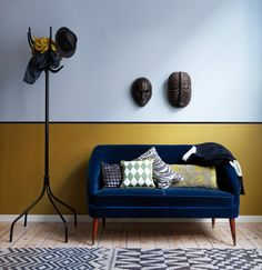 Love Love this couch!! Great styling also used within this shot.