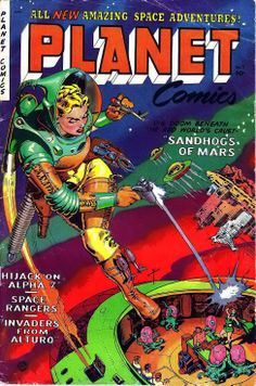 Wanted Post: Planet Comics #71 | FyndIt Need help searching for a rare comic featuring a heroine or villianess? FyndIt can help connect you with people who know where to locate hard-to-find comics and collectibles online and in stores. Get help at www.fyndit.com #Comics #ComicBooks #Collectibles #OuterSpace #SciFi