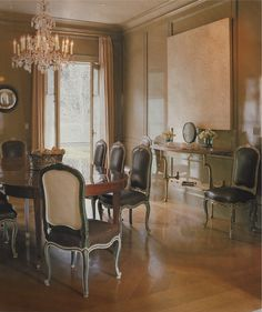Lacquered paneling....Steven Volpe