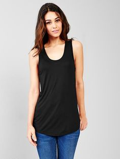 Fluid shirttail tank Product Image $19.95
